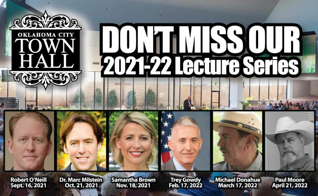 2021-22 OKC Town Hall Speakers
